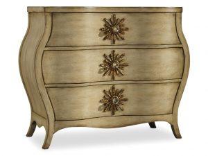 Hooker Furniture Sanctuary Three Drawer Bombe Chest 3028-85001-0
