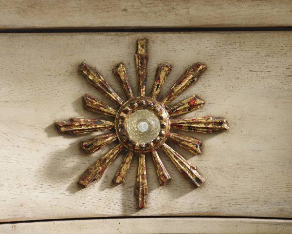 Hooker Furniture Sanctuary Three Drawer Bombe Chest 3028-85001-8797