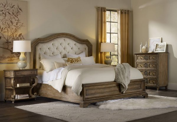 Hooker Furniture Solana Bedroom Collection with Upholstered Bed-0
