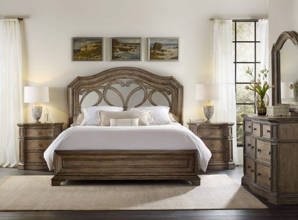 Hooker Furniture Solana Bedroom Collection with Mirrored Bed-0