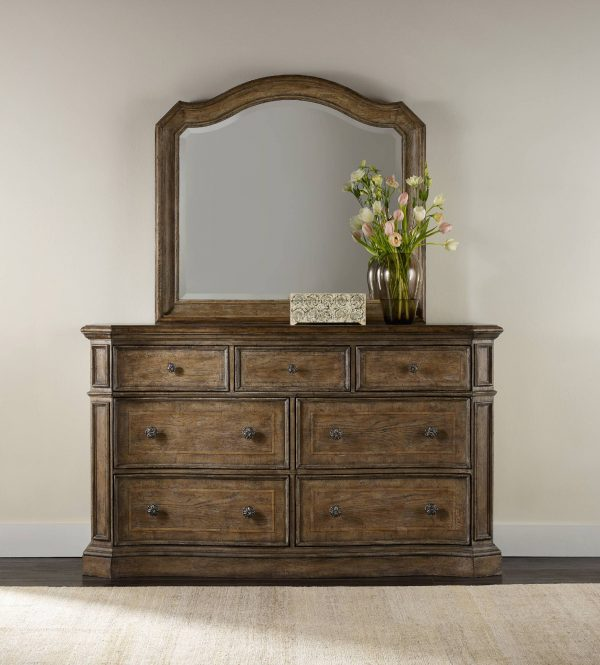 Hooker Furniture Solana Bedroom Collection with Mirrored Bed-9208