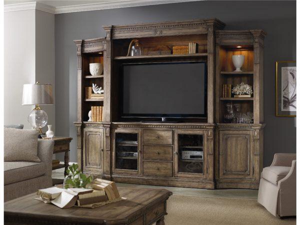 Hooker Furniture Sorella Entertainment Wall Group