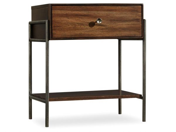 Hooker Furniture Studio 7H Bedroom with Metal Upholstered Bed-9259
