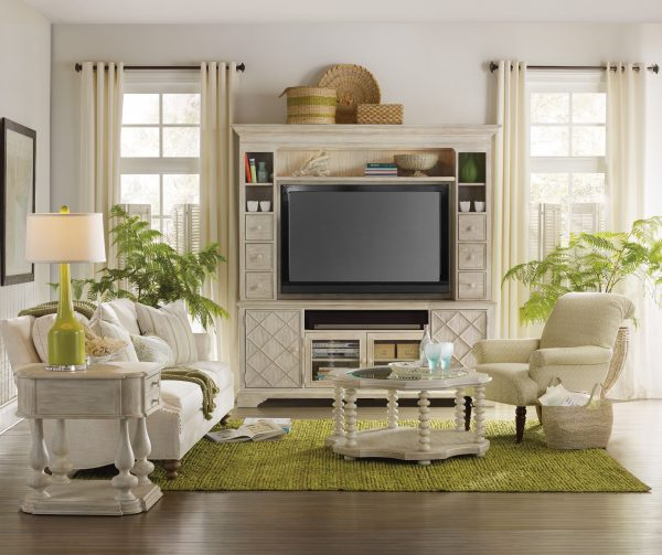 Hooker Furniture Sunset Point Two Piece Entertainment Group-0