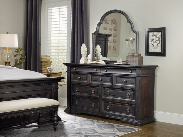 Hooker Furniture Treviso Bedroom Collection with Poster Bed-9316