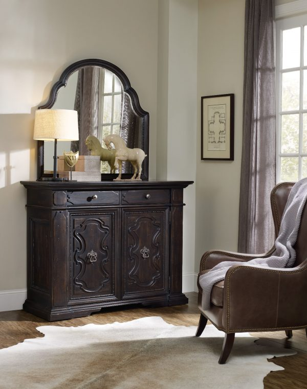 Hooker Furniture Treviso Bedroom Collection with Poster Bed-9320