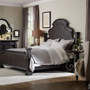 Hooker Furniture Treviso Bedroom Collection with Poster Bed-0