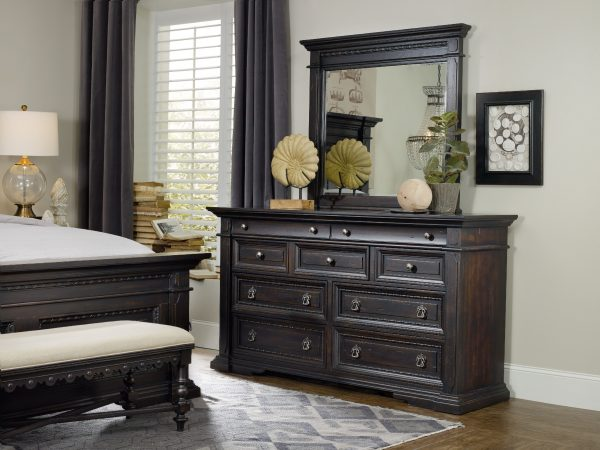 Hooker Furniture Treviso Bedroom Collection with Poster Bed-9309