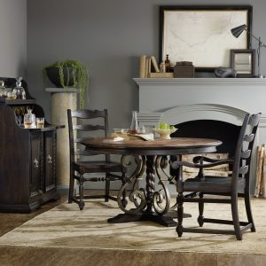 Hooker Furniture Treviso Dining Room with Pedestal Table-0