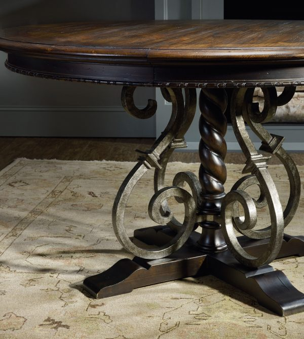 Hooker Furniture Treviso Dining Room with Pedestal Table-9658