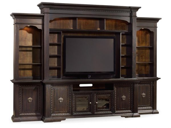 Hooker Furniture Treviso Home Entertainment Wall Group-9801