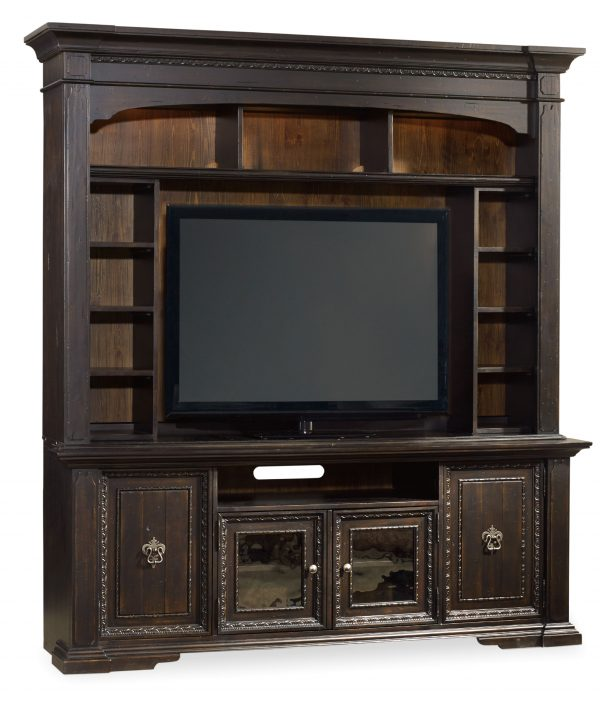 Hooker Furniture Treviso Entertainment Console with Hutch-9809