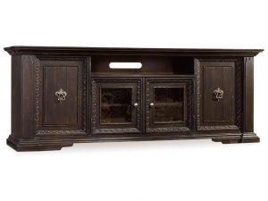 Hooker Furniture Treviso Entertainment Console with Hutch-0