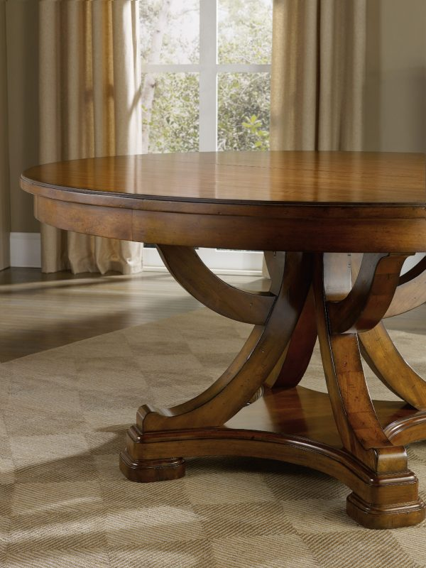 Hooker Furniture Tynecastle Dining Room with Pedestal Table-9675