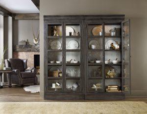 Hooker Furniture Vintage West Bunching Curio-0
