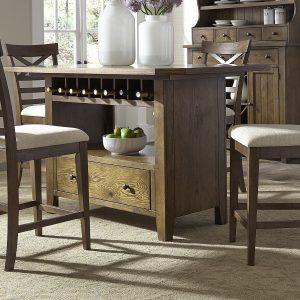 Liberty Furniture Hearthstone Center Island Table Set
