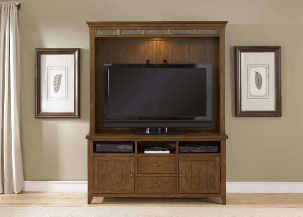 Liberty Furniture Hearthstone Entertainment Center
