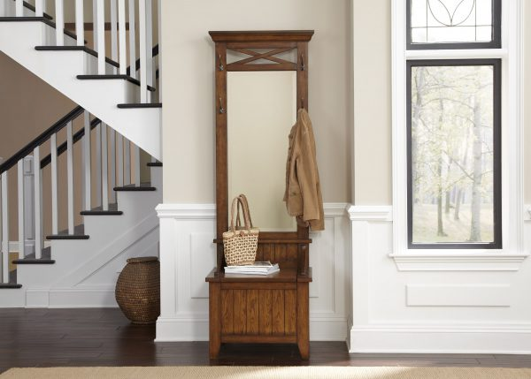 Liberty Furniture Hearthstone Hat Rack with Mirror