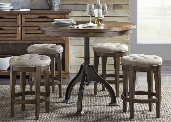 Liberty Furniture Arlington House Gathering Table Set
