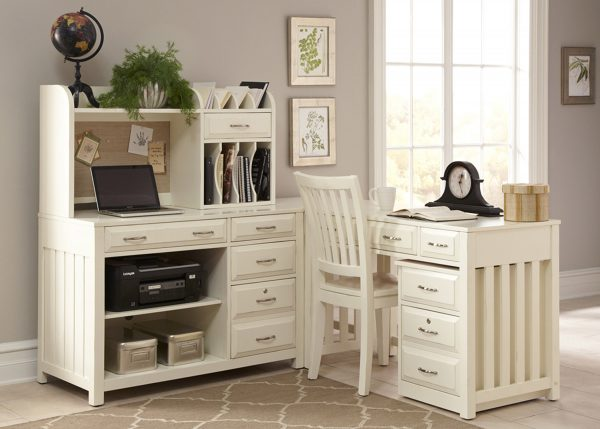 Liberty Furniture Hampton Bay Home Office Collection - White