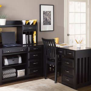 Liberty Furniture Hampton Bay Home Office Collection - Black