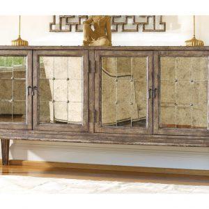 Hooker Furniture DeVera Mirrored Console 638-85082