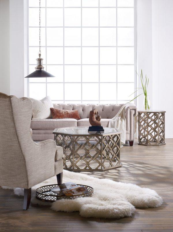 Hooker Furniture Melange Nico Living Room Tables
