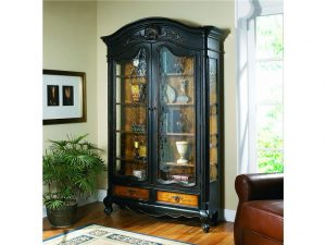 Hooker Furniture North Hampton Bonnet Top Display Cabinet 779-50-102