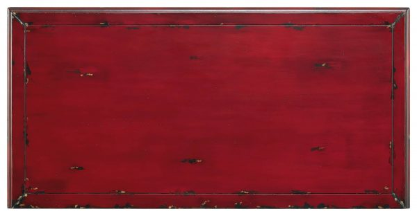 Hooker Furniture Red Bombe Chest 5102-85001