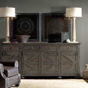 Hooker Furniture Vintage West Storage Credenza 5700-85001