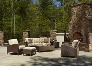 Anacara Company Atlantis Mocha Outdoor Living Room