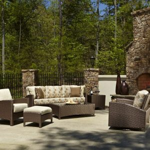 Anacara Company Atlantis Mocha Outdoor Living Room