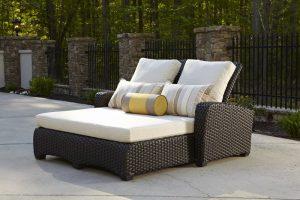Anacara Company Carlysle Double Chaise Lounge