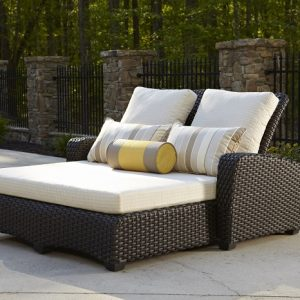 Anacara Company Carlysle Double Chaise Lounge