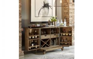 Legacy Furniture Metalworks Bar Cabinet