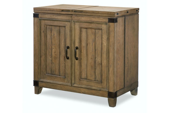 Legacy Furniture Metalworks Bar Cabinet