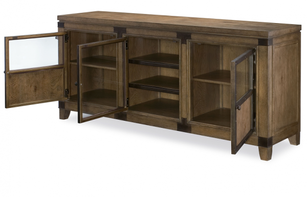 Legacy Furniture Metalworks Entertainment Console
