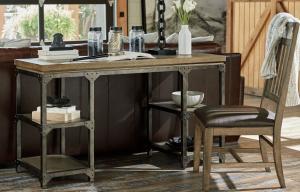 Legacy Furniture Metalworks Writing Desk
