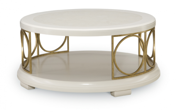 Legacy Furniture Tower Suite Accent Table Collection in Pearl Finish