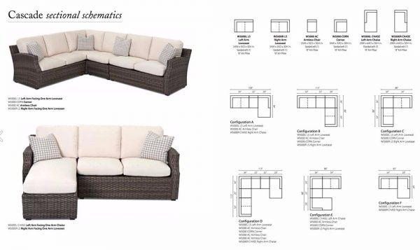 Klaussner Cascade Sectional Collection-12341