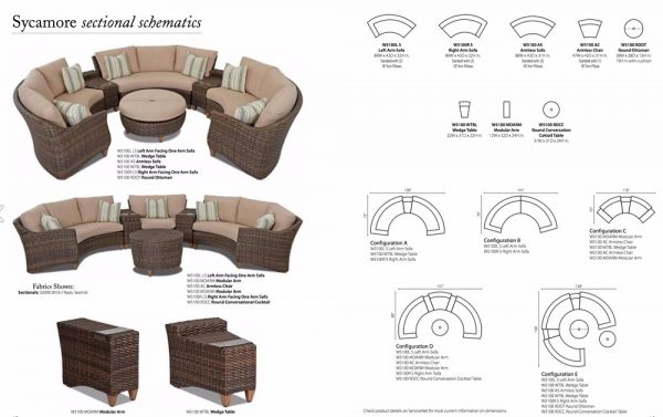 Klaussner Sycamore Sectional-12354