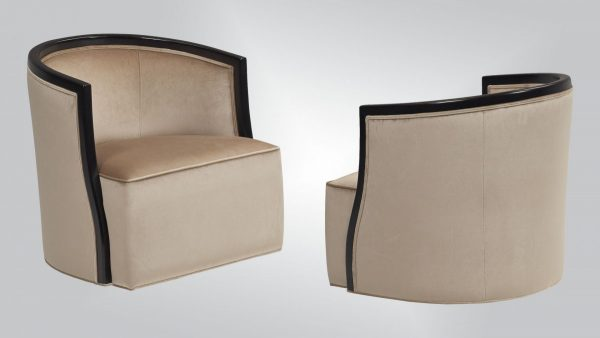 Burton James JC121 Covello Swivel Chair-0