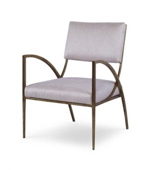 Century Sylvie Occasional Metal Chair-0