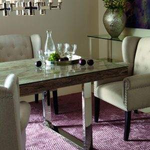 Bernhardt Henley Glass Dining Table-0