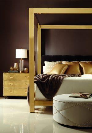 Bernhardt Kensington Metal Canopy Bed-0
