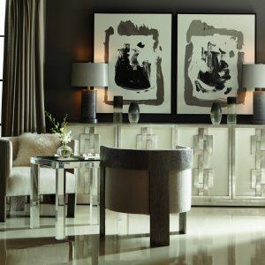 Bernhardt Odell Door Chest w/Cosway chair-0