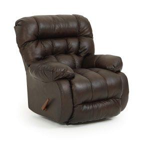Best Home Furnishings Plusher Leather Rocker Recliner-0