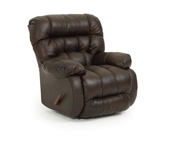 Best Home Furnishings Plusher Leather Rocker Recliner-0
