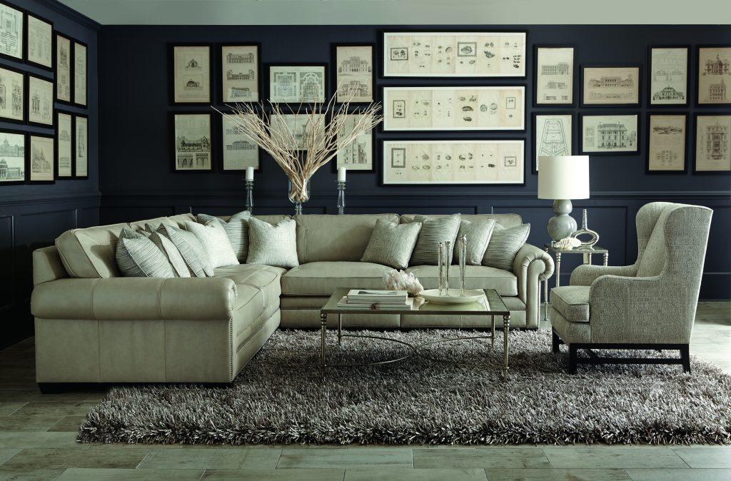 Bernhardt Grandview Sectional Seigerman S Furniture
