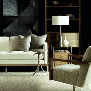 Bernhardt Spaulding Etagere & Gage Sofa-0